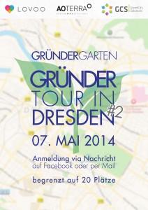 GruenderTour #2 Dresden