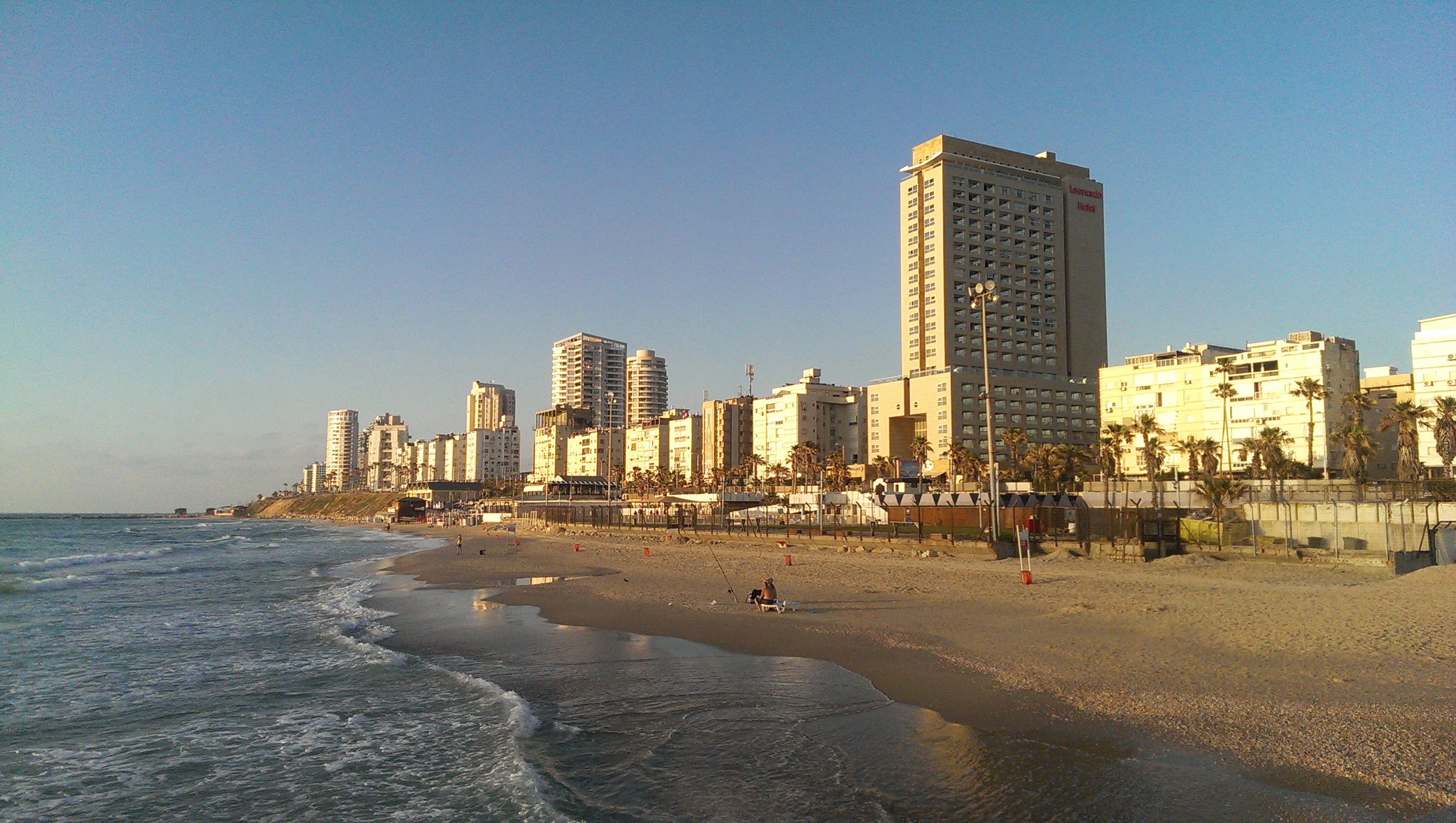 Strand in Tel Aviv