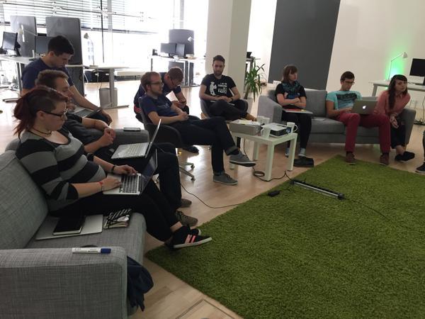GründerGarten zu Besuch im impact Loft