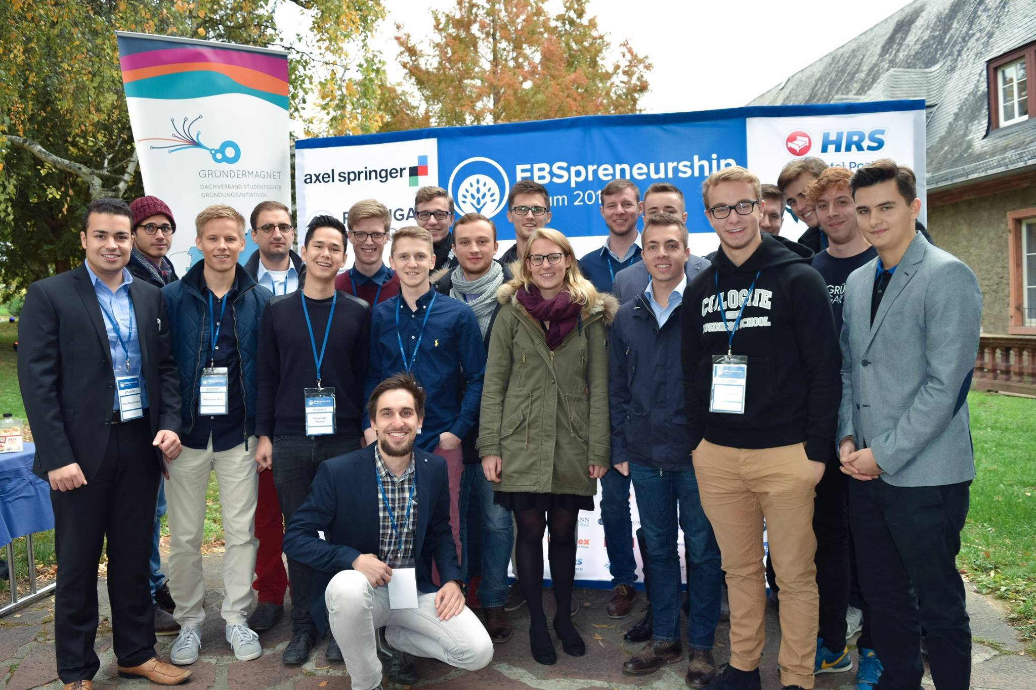 GründerGarten: Vertreter des Gründermagnets beim EBSpreneurship Forum 2015