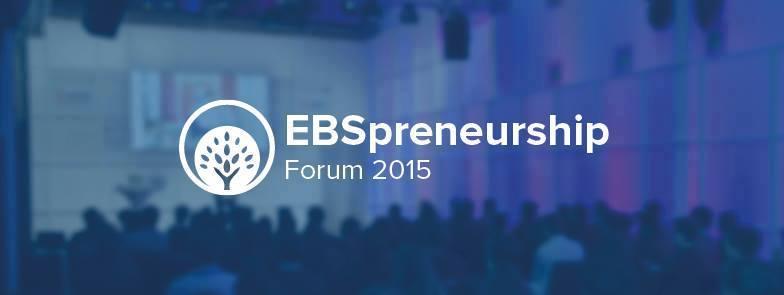 GründerGarten: Logo EBSpreneurship Forum 2015