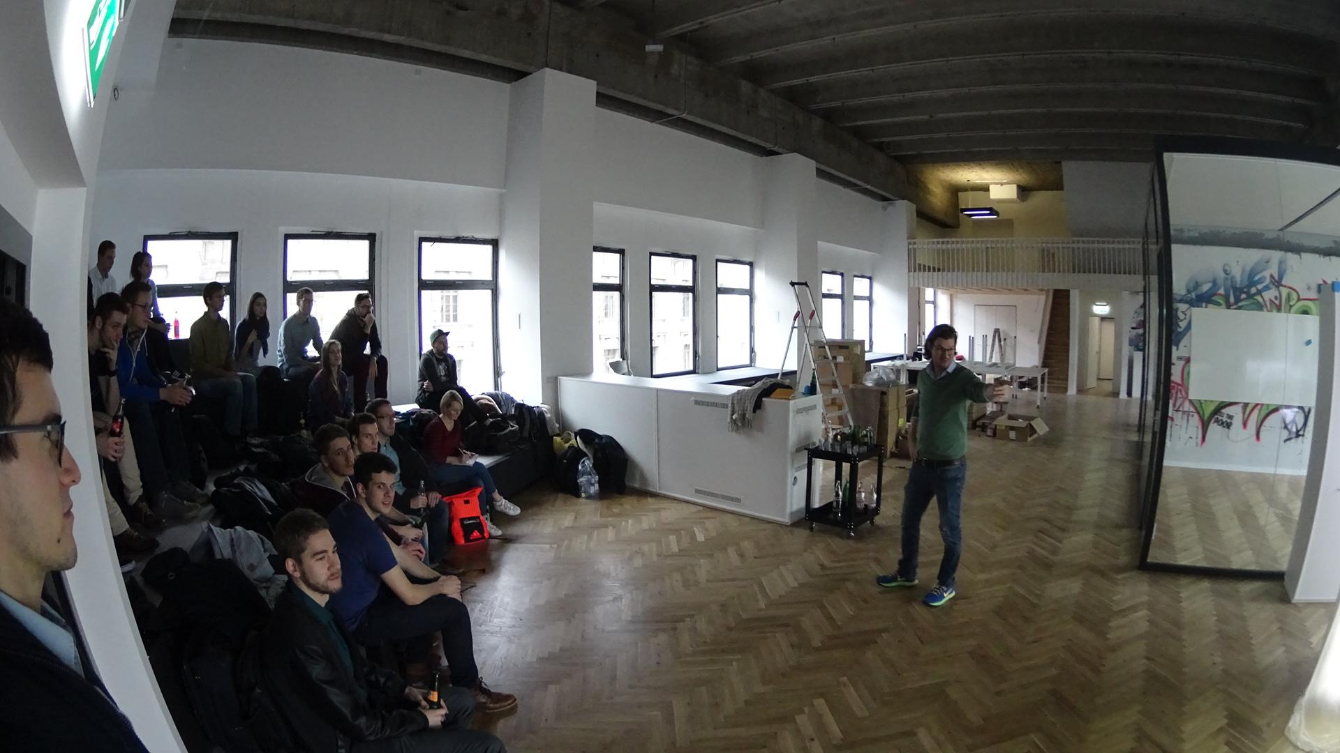 Der GründerGarten zu Besuch bei Number26 in Berlin.