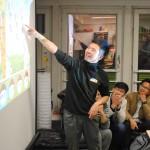 Chinesischer Student pitcht seine Idee